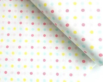 RAINBOW CRIB BEDDING. Watercolour Crib Bedding. Polka dot Crib Bedding. baby girl crib sheet. Watercolour Crib Sheet. Rainbow Crib sheet.