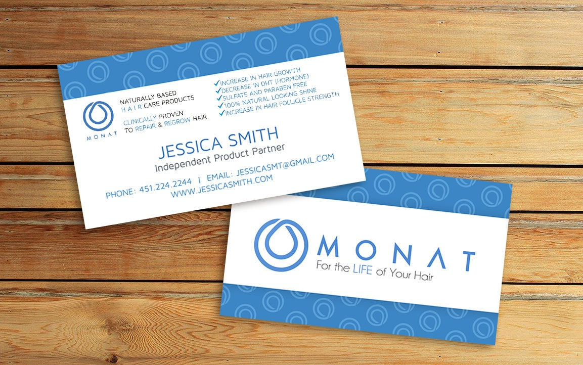 Monat business cards 35x2 inches printable business zoom magicingreecefo Images