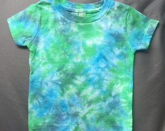 Baby Tie-Dye T Shirt, Size 12M, infant tie-dye, Cute Kids Tie Dye, Baby Blue tye dye, Colorful baby shirt, Baby Tye Dye T Shirt, RS0617239