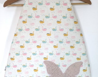 Quilted sleeping bag and cotton 62cm: 0-6 months