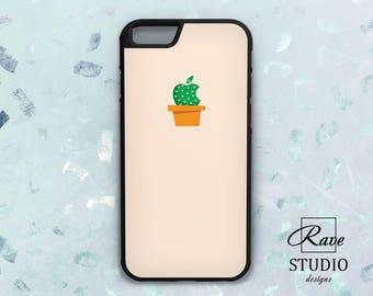 Cactus iPhone case Apple logo cover iPhone 7 apple case iPhone x case cactus Case logo Apple iPhone 8 case Cactus iPhone 6 case Cactus print