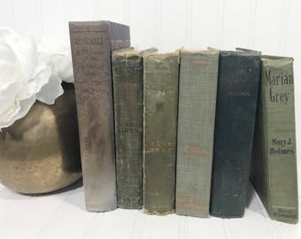 Vintage Decorative Book Set