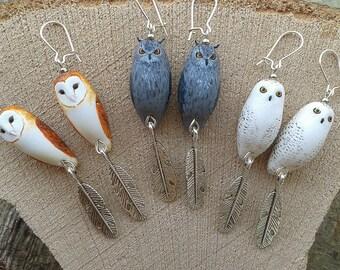 OWL and OWL Totem earrings