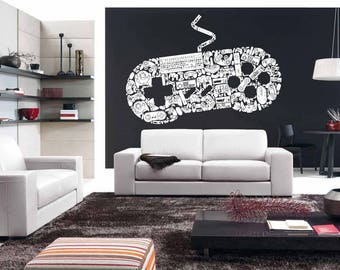 Gamer wall decal | Etsy