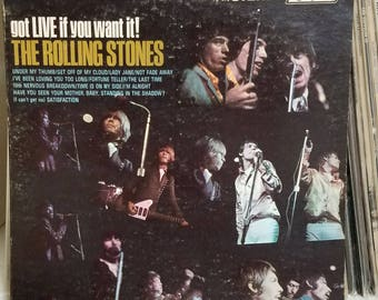 The Rolling Stones Got Live If You Want It! London Records Original Press LP