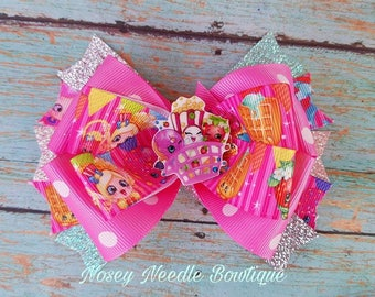 shopkins hair bow, shopkins hair clip, shopkins headband, shopkins birthday, shopkins hairbow, shopkins outfit, shopkins invitations,