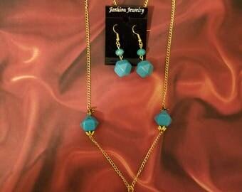 Mystic Turquoise Necklace Set