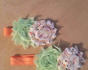 Matching sisters headband sets
