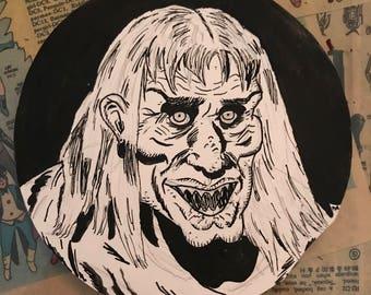 EC Horror Hosts original drawings