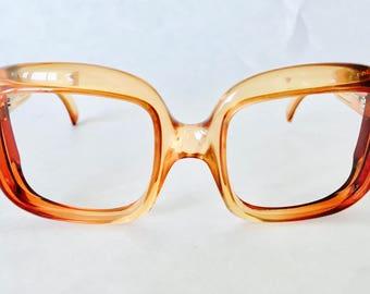 Vintage Christian Dior Square Optyl Frames   Designer Eyewear   Square Frame