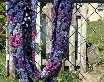 Infinity scarf in Plums