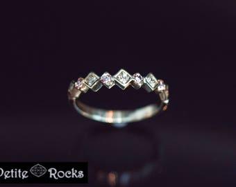 Diamond wedding band diamond wedding ring eternity diamond ring eternity band 18k gold ring diamond stacking ring diamond stackable ring