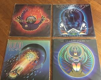 Journey Vinyl Record Album Set Of 4