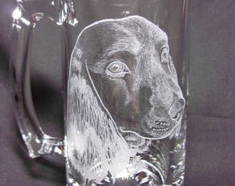 Pet Glass Engraving-Custom Piece