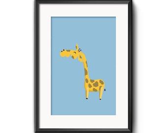 """Printable art """"Giraffe"""""""