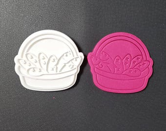 Five Loaves and Two Fishes  Cookie Cutter and Stamp