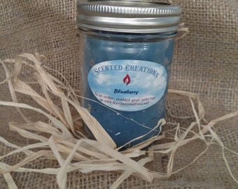 8 ounce container candle