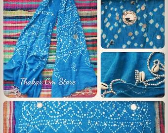Cotton Scarf  / Dupatta from Rajasthan / Tribal Gypsy