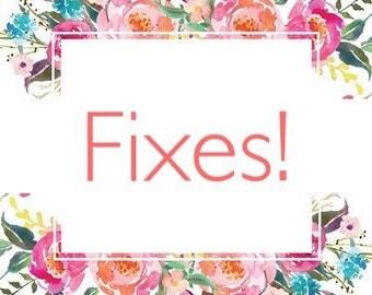 Fixes for Bracelets/Necklaces