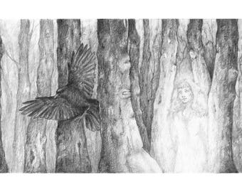 Ghost in the Woods | Fine Art Print