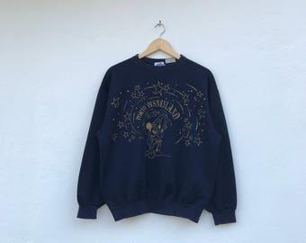 MICKEY MOUSE vintage tokyo disneyland sweater