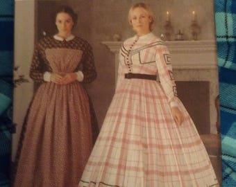 Simplicity Pattern 7212  Size HH (6, 8, 10, 12). The Fashion Historian patterns by Martha McCain. Victorian, Edwardian, Civil War Era