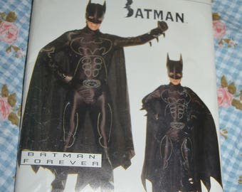Butterick 4172 Boys Batman Costume Sewing Pattern - UNCUT - Size XS  S M L