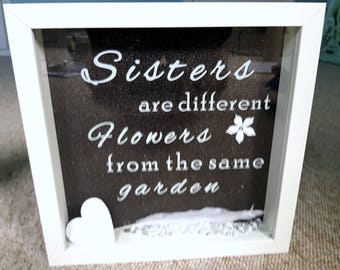 Sisters Personalised Frame