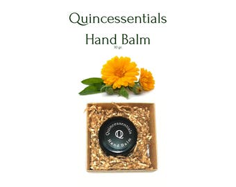 Hand Balm, Hand Cream, Hand Lotion, Hand Moisturizer, Hand Salve, 100% Natural Skin Care by Quincessentials