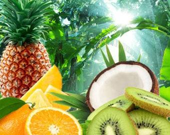 jungle love - wax tart - citrus candle - fruity scent