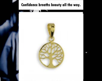 Tree of Life Pendant (8ct yellow gold/0.25grams)