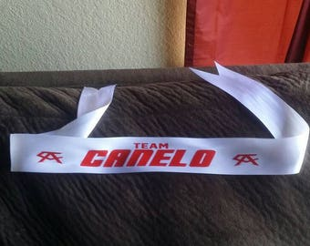 Canelo head band free shiping