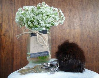 Very elegant rabbit fur keychain!!!! Nice subtle color!!! Great soft hair!!! Prime quality!!!!