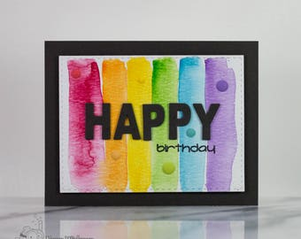 Color Me Happy Card