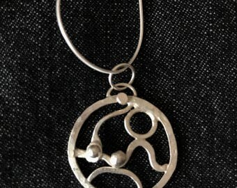 Every day Silver Necklace