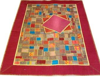 Persian Patchwork Kilim Rug PRH107, 168x237