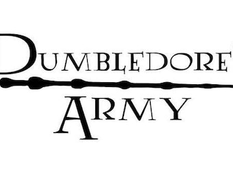 Dumbledores Army .svg file for Cricut and Silhouette