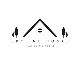 Premade Logo Design, Realty Logo, Realtor Logo Design, Property Business Logo, Estate Agent Logo