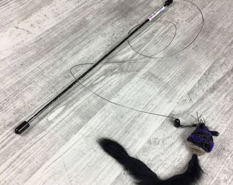 Cat toy | Fly wand cat teaser toy | Interactive cat | Lure cat toy | Award winning cat toy | Mouse on a wire | Mouse on a string