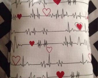 Heartbeat pillow
