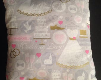 Wedding Day pillow