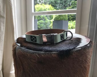 Classy Leather Collar Styleash