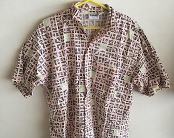 Vintage 1980s beach shirt