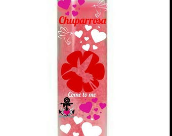 Chuparrosa candle, blessed candle, dressed candle, fixed candle, love candle, marriage candle, hummingbird candle, relationship candle