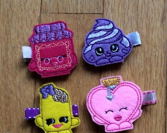 Shopkins feltie cips