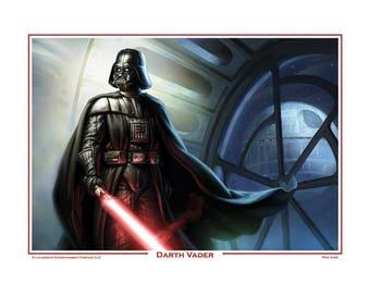Darth Vader print