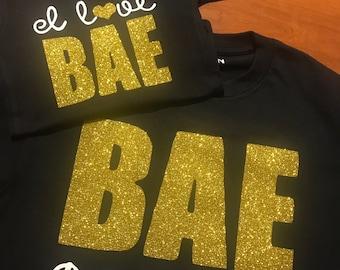 BAE Best Auntie Ever matching Aunt/Niece shirts