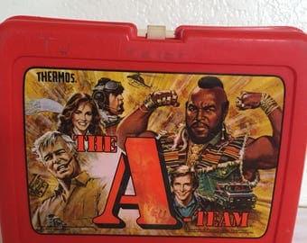 Vintage 1983 A-Team Lunch Box