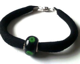 Bracelet green pea