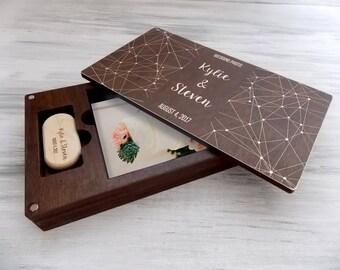 Valentine Gift. Wedding Photo Box. Anniversary Gift. Valentine Day Gift. Gift for Her. Boyfriend Gift. Gift for Couple. 5th Anniversary Gift